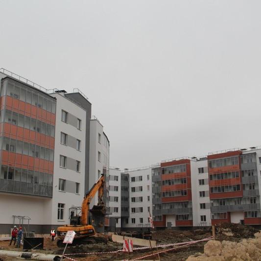 ЖК Новые кварталы Петергофа, ход строительства сентябрь 2017